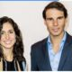 Rafael Nadal and wife smile