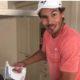 Rafael Nadal in kitchen