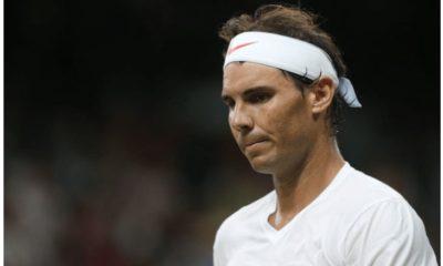 Rafael Nadal serious