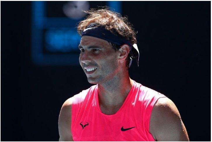 Rafael Nadal smile