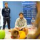 Rafael Nadal with team