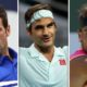 Roger Federer, Novak Djokovic and Rafael Nadal
