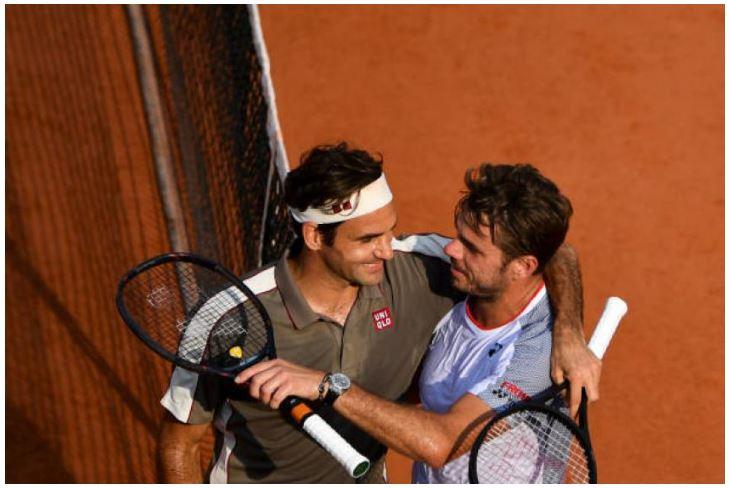 Roger Federer andStan Wawrinka