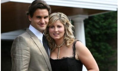 Roger Federer and wife teen