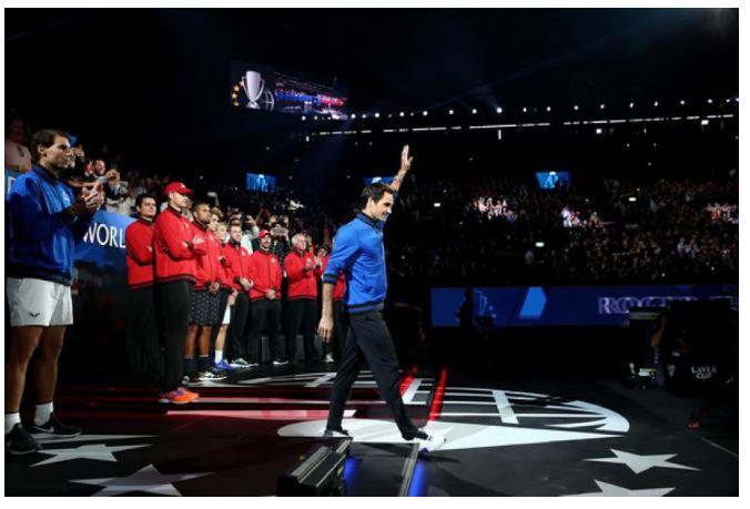 Roger Federer awarded