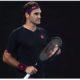 Roger Federer consentrate