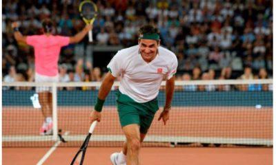 Roger Federer play nadal