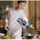 Roger Federer with pasta