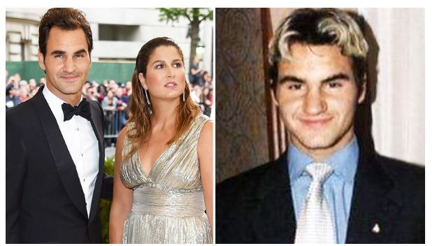 Roger Federer youth with wife