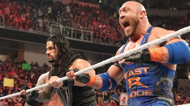 Roman Reigns and Ryback
