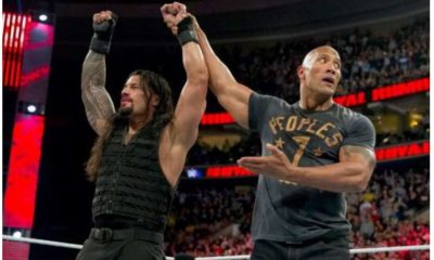 Roman Reigns and The Rock