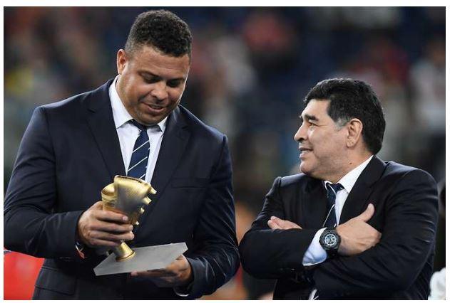 Ronaldo won