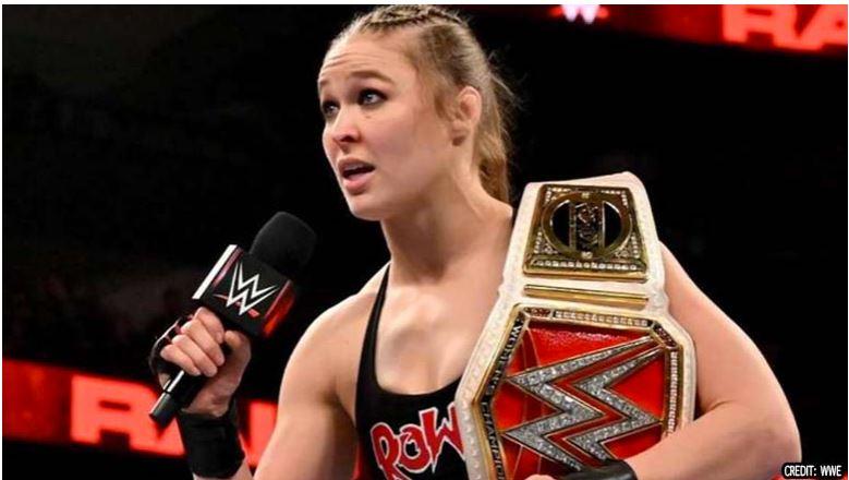 Ronda Rousey speaking