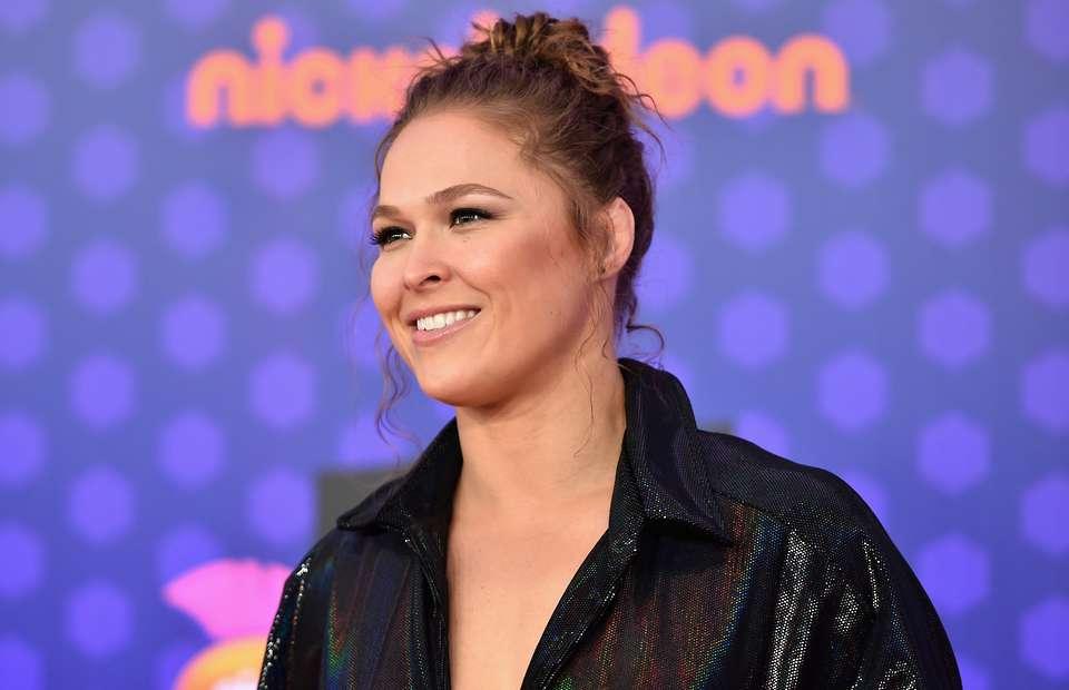 Ronda Rousy smile