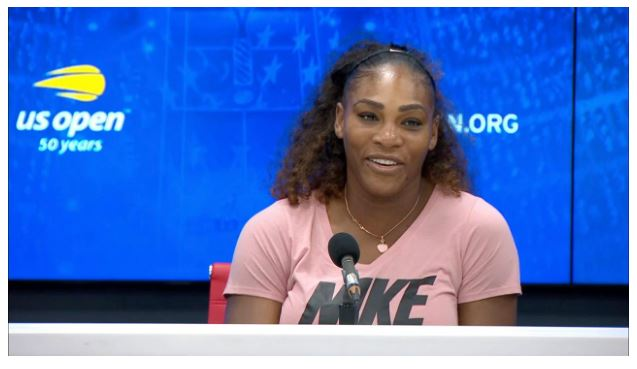 Serena Williams Speaks