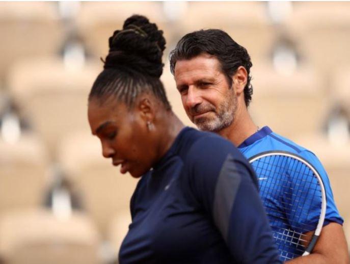 Patrick and Serena Williams