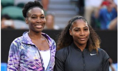 Serena Williams and Venus Williams smile