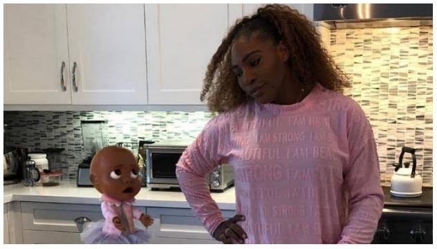Serena Williams and kiki