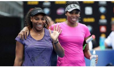 Serena Williams and sister
