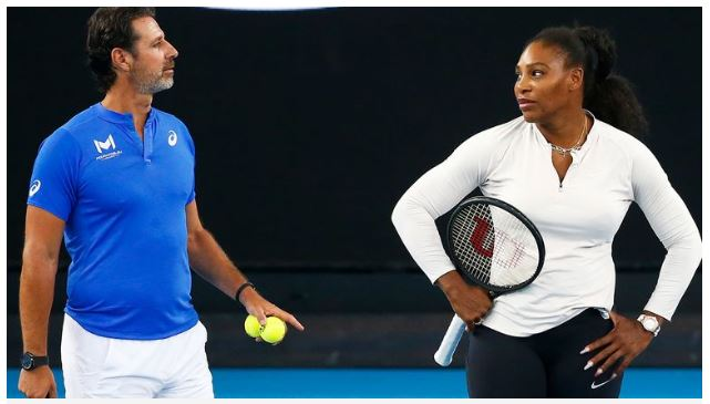 Patrick and Serena Williams