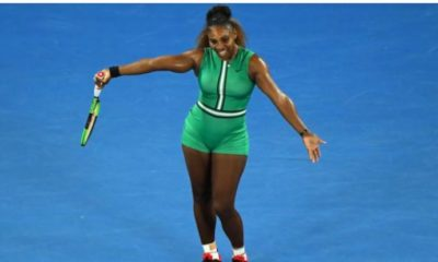 Serena Williams dancing
