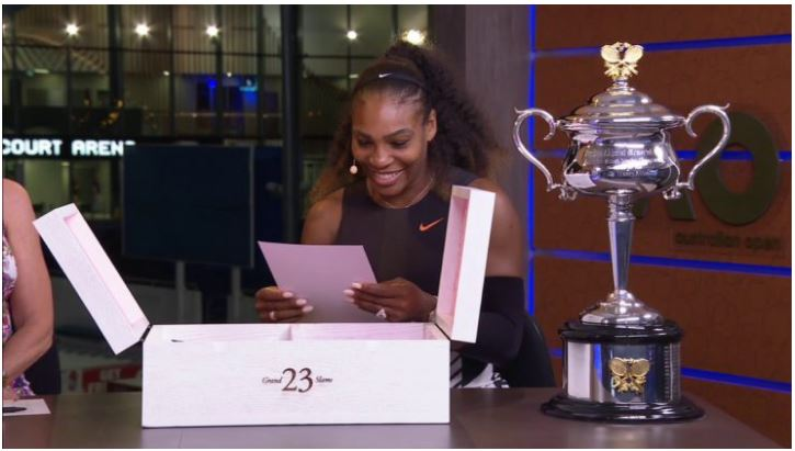 Serena Williams gifted