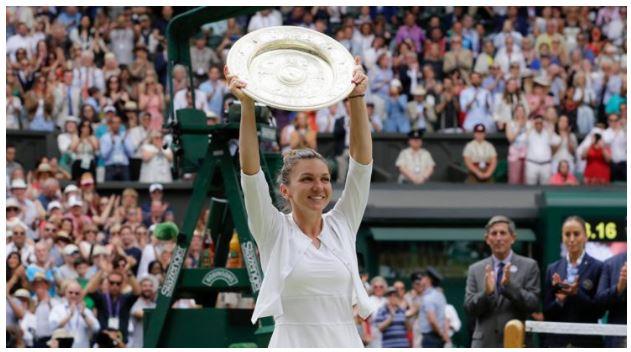 Simona Halep won