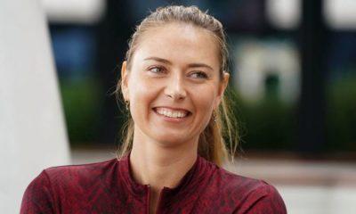 maria Sharapova laughing
