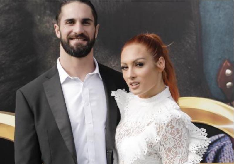 seth Rollins kiss Becky Lynch