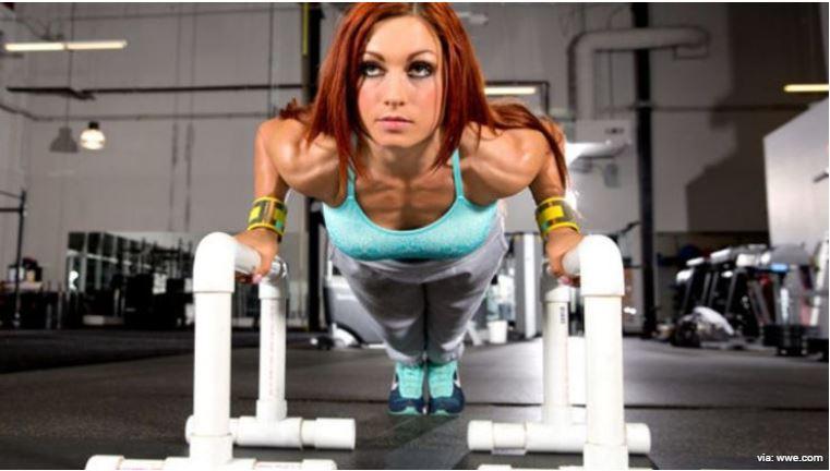 Becky lynch workout
