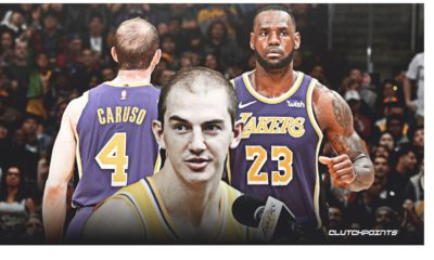 Lebron James and Caruso