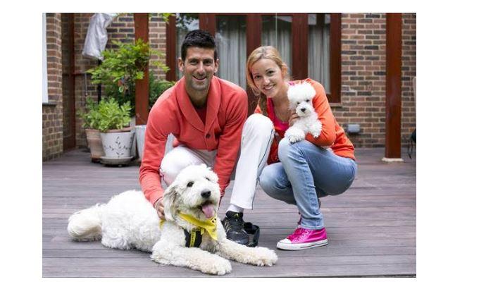 Novak Djokovic & Jelena