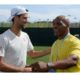 Novak Djokovic and Mike Tyson