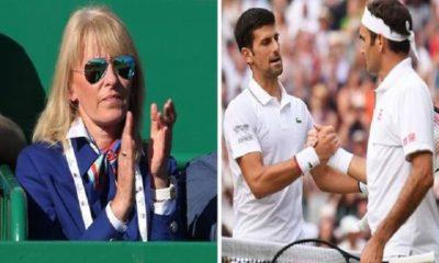 Novak Djokovic mother clap