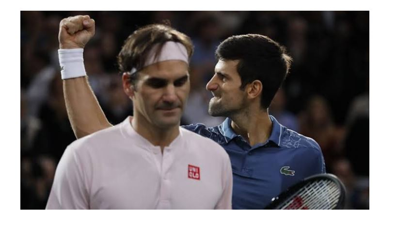 Novak Djokovic win Federer