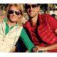 Novak Djokovic with Mum