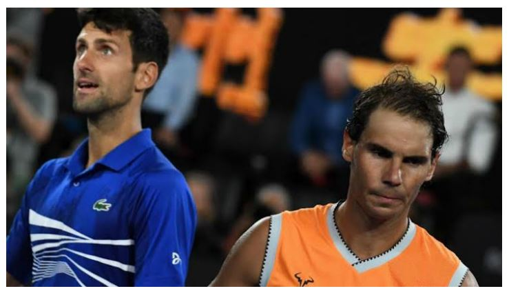 Rafael Nadal & Novak Djokovic snap