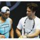 Rafael Nadal and Carlos Moya snap