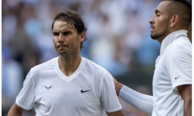 Rafael Nadal and Nick snap