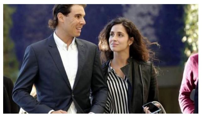 Rafael Nadal and wife discuss