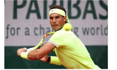 Rafael Nadal back hand