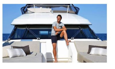 Rafael Nadal on Yatch