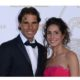 Rafael Nadal with wife snap