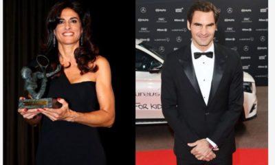 Roger Federer and Ex