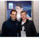 Roger Federer and Toni Kroos