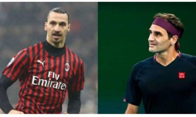 Roger Federer and ibrahimovic