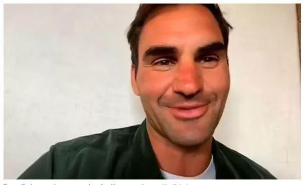 Roger Federer looking forward