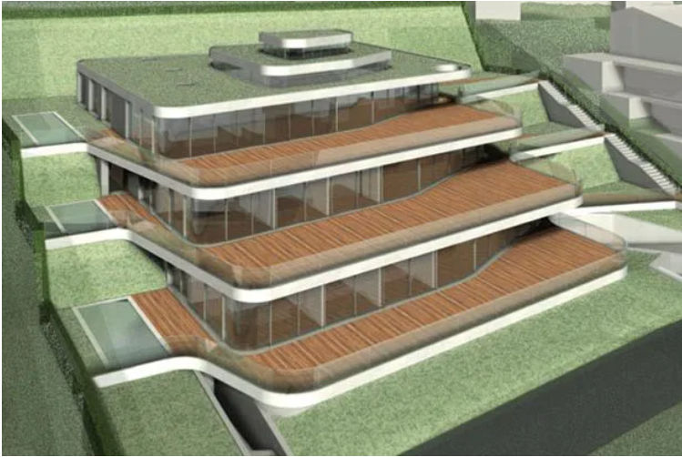 Roger Federer mansion built