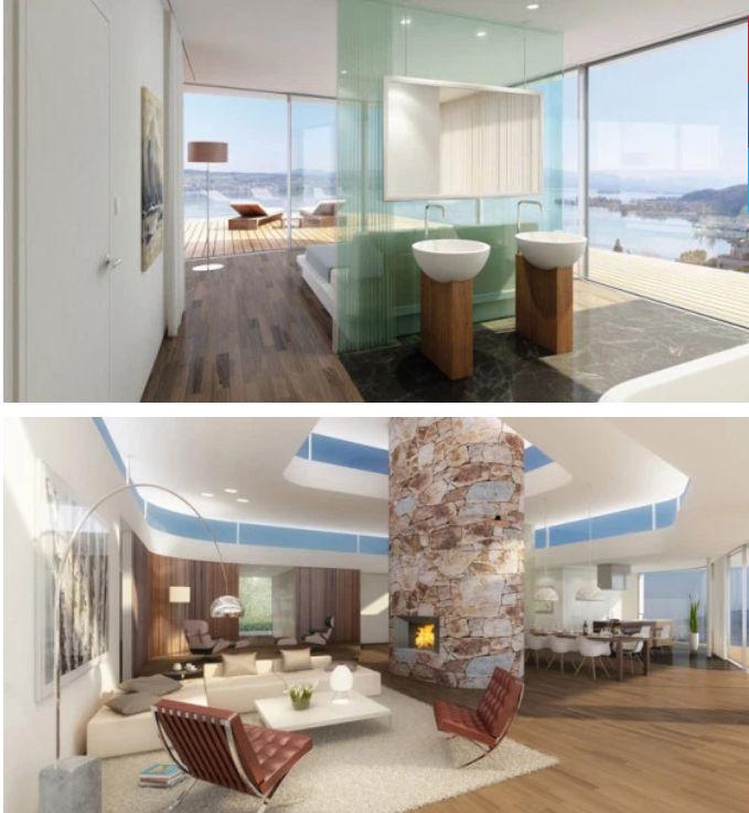 Roger Federer mansion interior