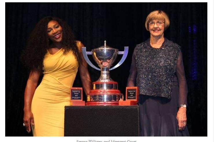 Serena Williams & Billie Jean
